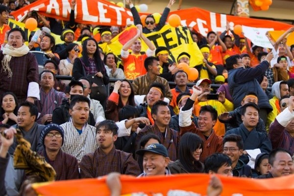 Bhutan fans